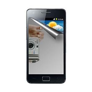 Amzer Mirror - Protector de pantalla con gamuza limpiadora para Samsung Galaxy S II (GT-I9100)