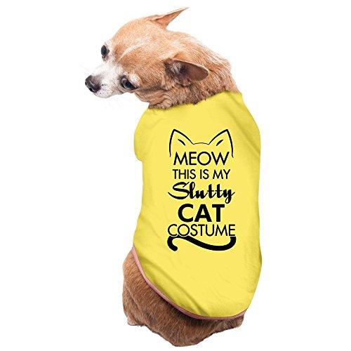 Slutty Cat Feline Meow Halloween Costume Dog Sweater