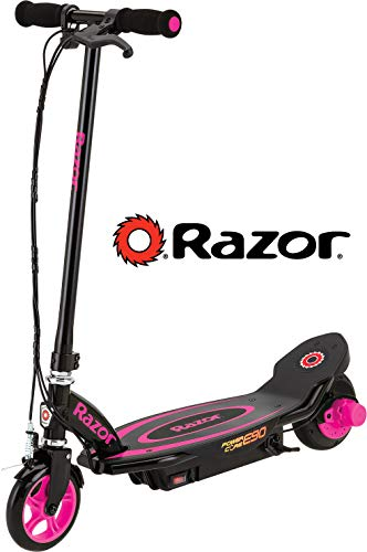 Razor Power Core E90 Electric Scooter - Pink (Girls Purple Electric Scooter)