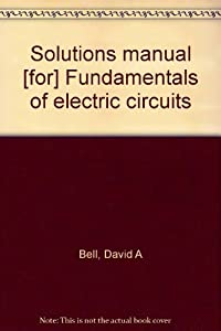 solutions manual for fundamentals of book by david a bell rh thriftbooks com Sportline Pulse Manual Sportline Pulse Manual