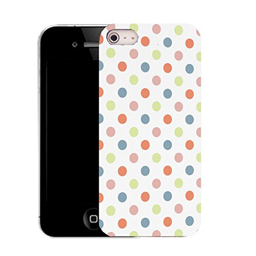 Mobile Case Mate IPhone 4s clip on Silicone Coque couverture case cover Pare-chocs + STYLET - multi populous pattern (SILICON)
