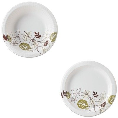 KITDXESX12PATHDXEUX9PATH - Value Kit - Dixie Pathways Mediumweight Paper Plates (DXEUX9PATH) and Dixie Pathways Heavyweight Paper Bowls (DXESX12PATH) by Dixie