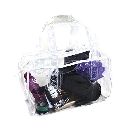 747bf24583cb Amazon.com: Fashionable Clear Work Security Purse, 10x6x5, NFL ...