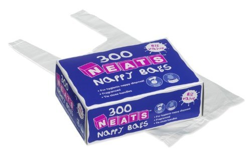 Robinson Neats Nappy Bags 300s X 12 by Robinson Healthcare