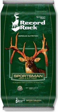 Record Rack Sportsmans Choice Sportsman Deer & Elk Feed 50 Pounds by Record Rack
