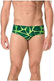Speedo Mens Swimsuit Brief Endurance+ Caged Out - Manufacturer Discontinued