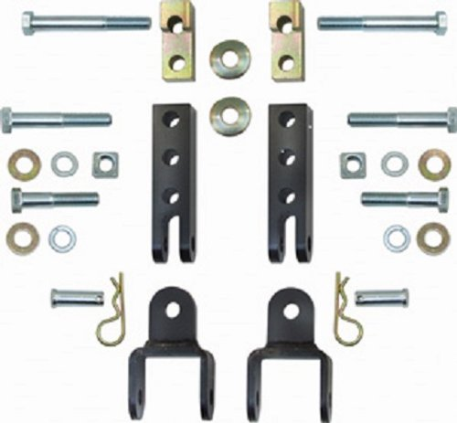 Currie Enterprises CE-9033TJ Tow Bar Mounting Kit for Jeep TJ