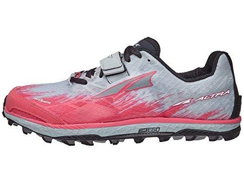Altra King MT 1.5 Wom Shoe Gray/Pink 10.5 B
