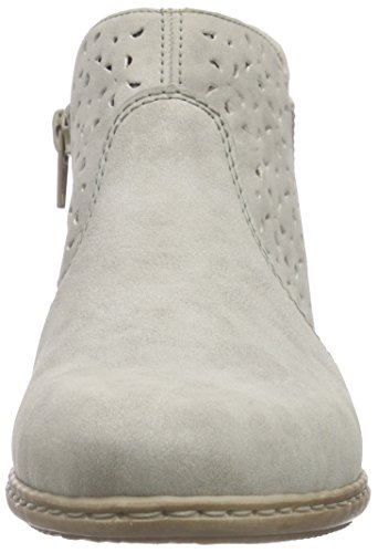 Grey Grey Lined Classic Short Boots Length Rieker Women 40 Cold 40 M0785 qg8wWW4TA
