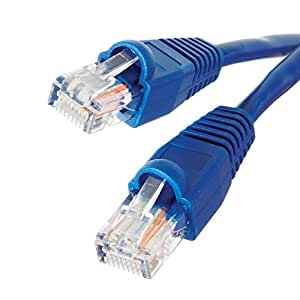 0.5m 1m 2m 3m 5m 10m 15m 20m 30m 50m 100m RJ45 CAT6 Ethernet Network LAN Patch Cable 1000Mbps (5m)