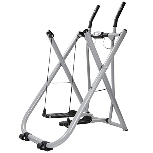 SKEMiDEX---Edge Glider Elliptical Exercise Machine Fitness Home Gym Workout air walker new This low-impact machine elliptical trainer helps you work arms, legs, abs, and everything in between.