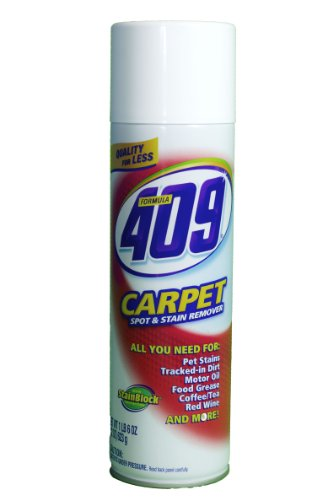 Formula 409 01211 Carpet Cleaner Disinfectant, 22 fl oz Aerosol