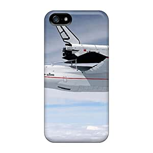 JMihaXx2123EHsqs Case Cover, Fashionable Iphone 5/5s Case - Space Shuttle