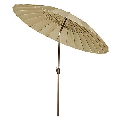 Steel Wire For Umbrella : Abba patio round parasol umbrella with push