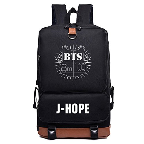 Daypack Backpack Boys Schoolbag Kpop Canvas Laptop Satchel hope BTS Bangtan J Casual Bags Enq8ZZwp