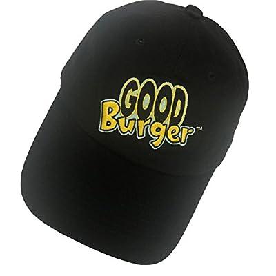 Shengyuan Lin Good Burger Dad Hat Baseball Cap Embroidered Adjustable Snapback Cotton Black
