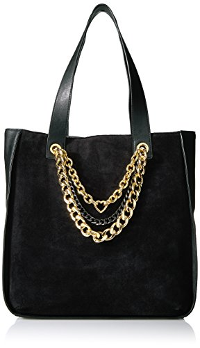 Juicy Couture Fairmont Fairytale Velour Tote, Pitch Black