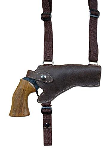 "NEW Barsony Burgundy Leather Horizontal Gun Shoulder Holster Taurus 4/"" Revolvers"
