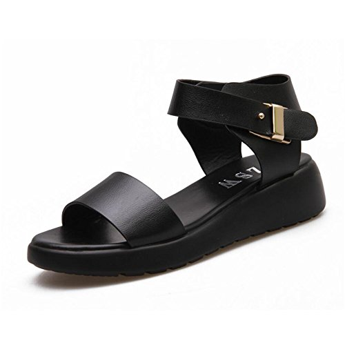 Almohada sandalias Papier maternidad sandalias de confort Negro