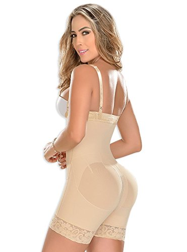 Amazon.com : Fajas MYD Faja corta, cierre diagonal Strapless Womens Colombian Girdle Reductoras Postpartum Lipo With Diagonal Closure Ref 0766 : Sports & ...