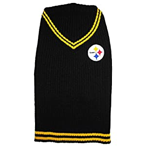 NFL Pittsburgh Steelers Pet Sweater, X-Small