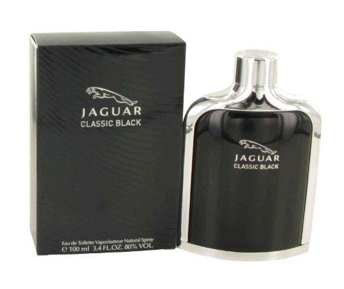 Jaguar Classic Black men cologne by Jaguar Eau De Toilette Spray 3.4 oz
