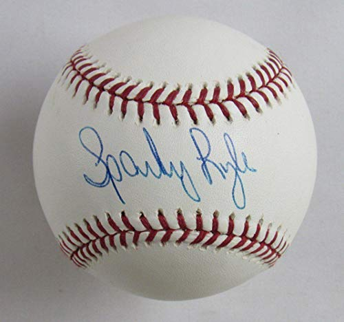 Sparky Lyle Autographed Baseball - Rawlings B116 - Autographed Baseballs