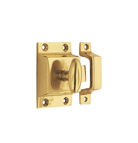 - Nostalgic Warehouse Flush Catch, Polished Brass