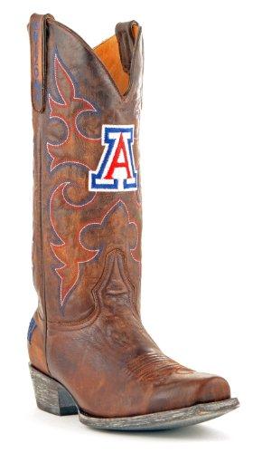 Ncaa Arizona Wildcats Hommes Conseil Salle Style Bottes En Laiton