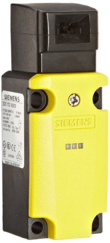 Siemens 3SE5 112-1QV10 Interlock Switch, 40mm Metal Enclosure, 1 Yellow LED, 1 Green LED, Slow Action Contacts, 1 NO + 2 NC Contacts, 24VDC - Nc Hut