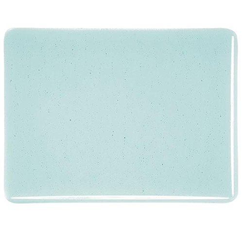 Made From Bullseye Glass 90COE Light Aquamarine Blue Transparent Fusible Glass Coarse Frit 4oz