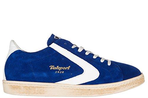 Valsport 1920 Men's Shoes Suede Trainers Sneakers Tournament blu US Size 7 TOURS303 -