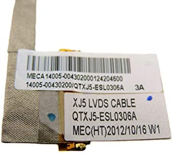 LVDS LED LCD Video Screen Cable for ASUS X501A-HPD121H X501A-spd0503w X501A-wh01
