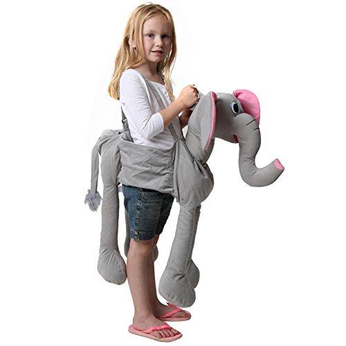 [Gray Ride On Elephant Costume] (Ride On Elephant Costume)
