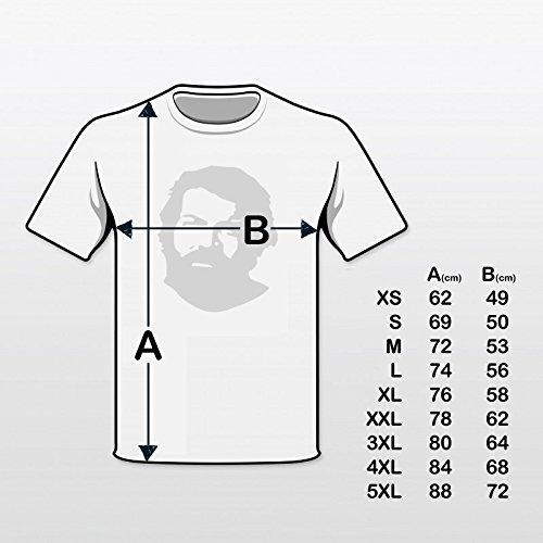 Bud Spencer Herren JUMBO (Zwei ausser Rand und Band) Comic T-Shirt