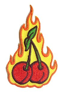 Flaming Cherries - Reed Artist Patch - 3