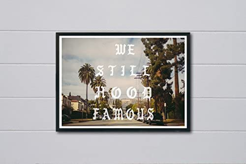 """Kanye West Woke Up And Felt The Vibe Poster Hypebeast Posters Prints 12x18/"""""""