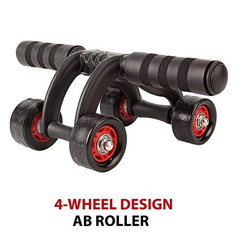 Vruta Training Equipment ABS Belly Trainer Plastic 4-Wheel Abdominal Wheel Power Ab Roller for Home Gym Muscle Exercise Fitness Training Equipment Price & Reviews