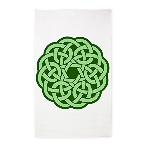 3' x 5' Area Rug Celtic Knot Wreath by Royal Lion