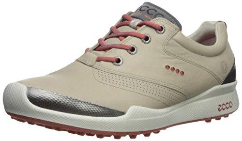 ECCO Women's Biom Hybrid Golf Shoe, Oyester/Rosato, 9 M US ()