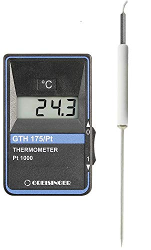 GHM Greisinger HACCP Temperatur-Messgerät inkl. Teflon-Einstechfühler GTH 175 PT-K 9 V