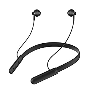 Wireless Bluetooth in-Ear GO Headphones for Vivo V17 Pro Sports Bluetooth Wireless Earphone with Deep Bass and Neckband Hands-Free Calling inbuilt Mic Headphones with Long Battery Life and Flexible Headset