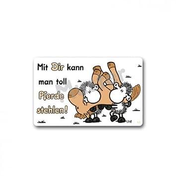 Klassische Stehlen sheepworld 57133 pocketcard nr 41 mit dir kann toll pferde