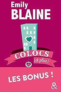 Colocs (et plus) : Les bonus ! par Emily Blaine