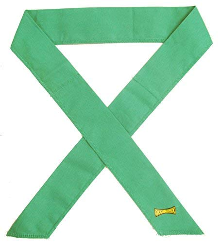 OccuNomix MiraCool Cooling Bandana - Green - Pack of 12 - 940-048
