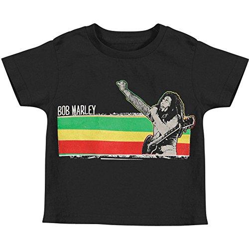 Bob Marley Stripe T-shirt - 3
