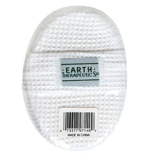 Earth Therapeutics Earth Elementals Loofah, Bath Pad, 1 each (Pack of 4)