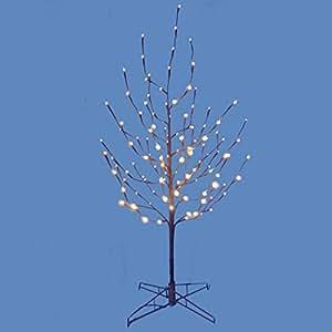 Amazon.com: KSA 4' Lighted LED Brown Artificial Christmas ...