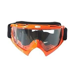 Gafas de esquí moto de cross Multicolor Opcional, yellowtransparentbox