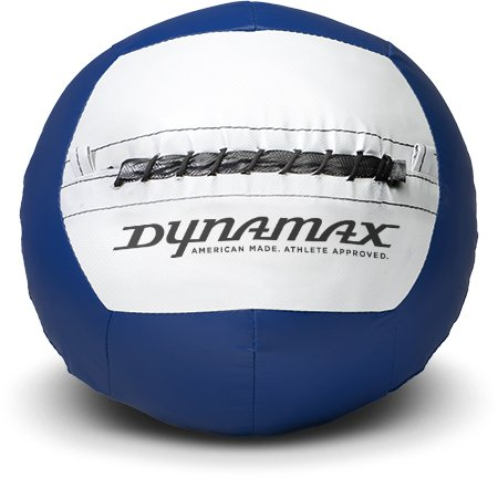Dynamax 12lb Soft-Shell Medicine Ball Blue/Grey